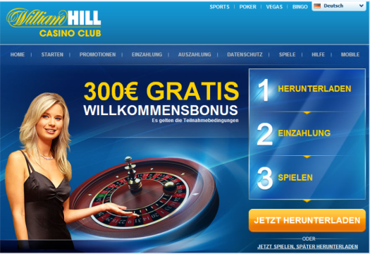 online william hill casino spielo online